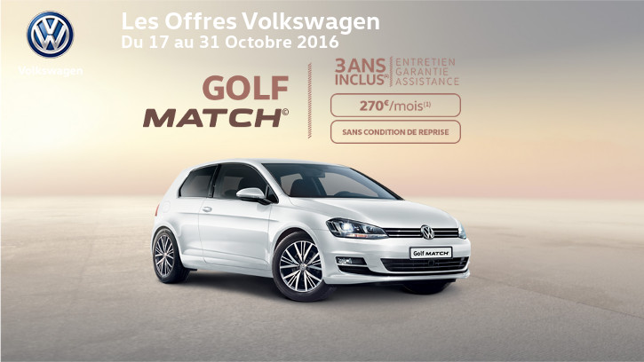 volkswagen golf match albatrauto f camp. Black Bedroom Furniture Sets. Home Design Ideas